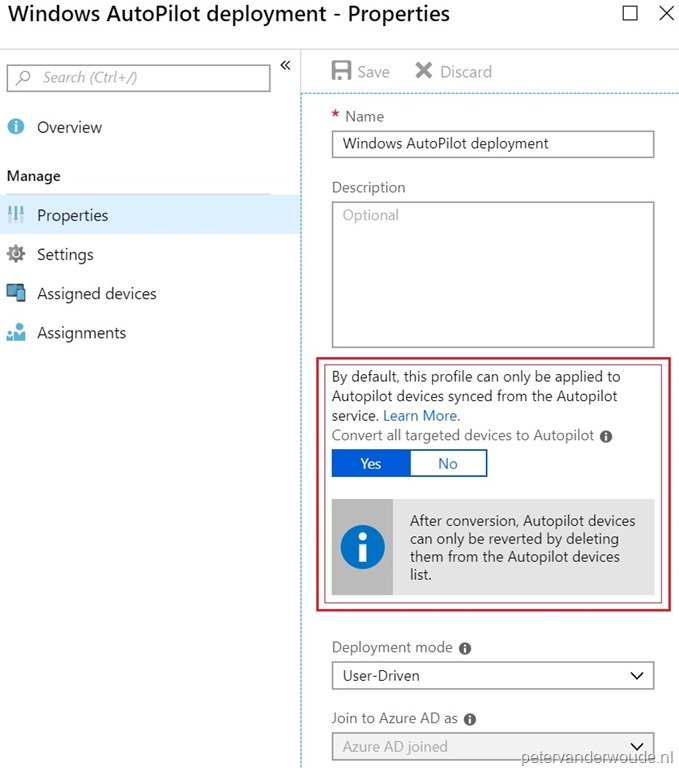 Automagically convert Intune managed devices to AutoPilot