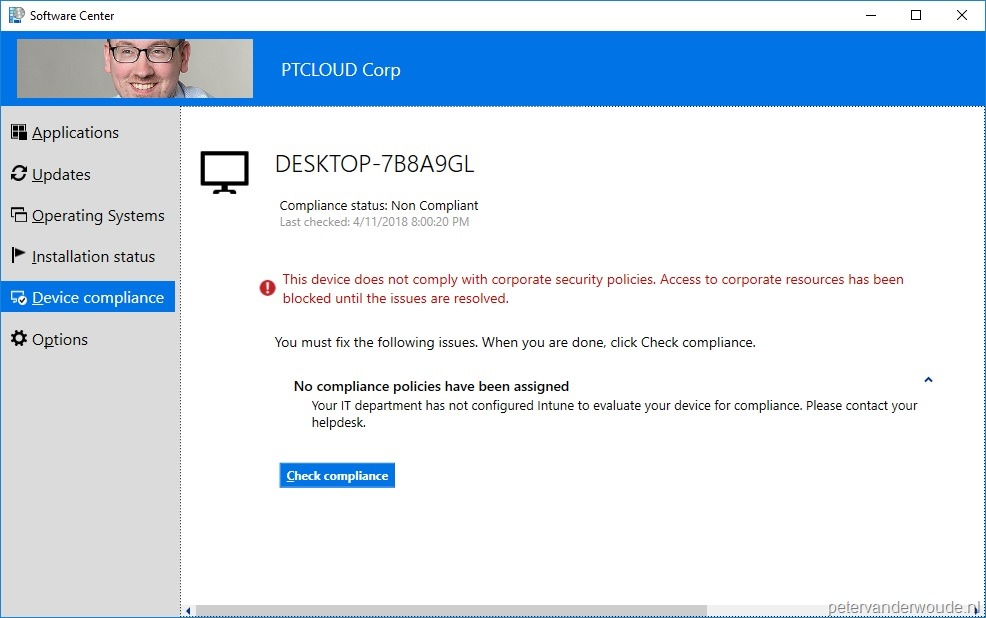 Default device compliance status – More than just ConfigMgr