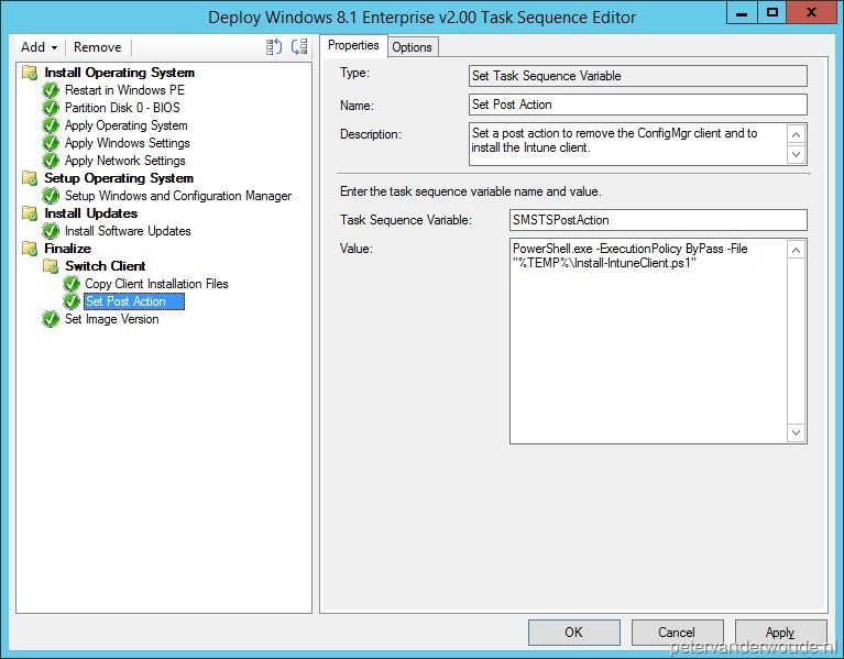 Task Sequence Variable – More than just ConfigMgr