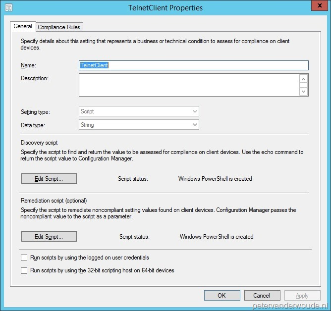 Compliance Settings – More than just ConfigMgr