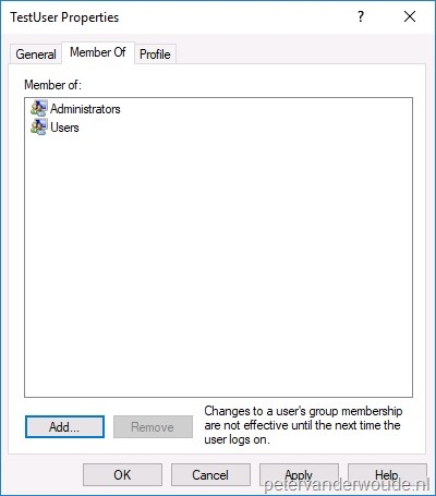 Create a local user account via Windows 10 MDM – More than