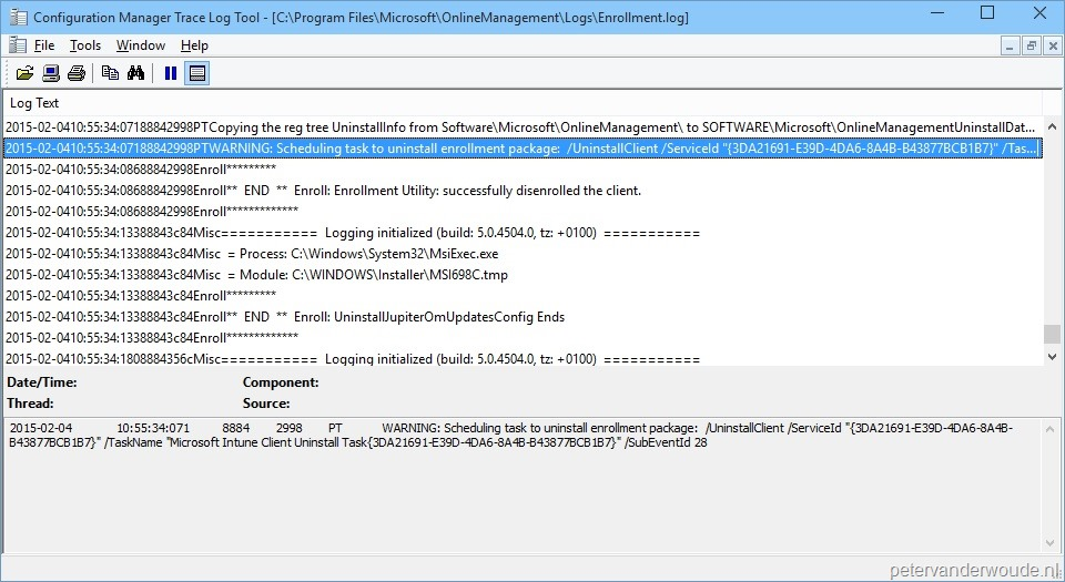Uninstall the Microsoft Intune client – More than just ConfigMgr