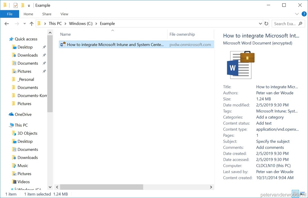 App Protection Policies – More than just ConfigMgr