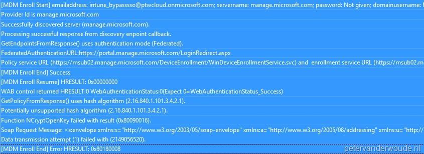 How to troubleshoot Windows Phone 8 1 enrollment via Microsoft