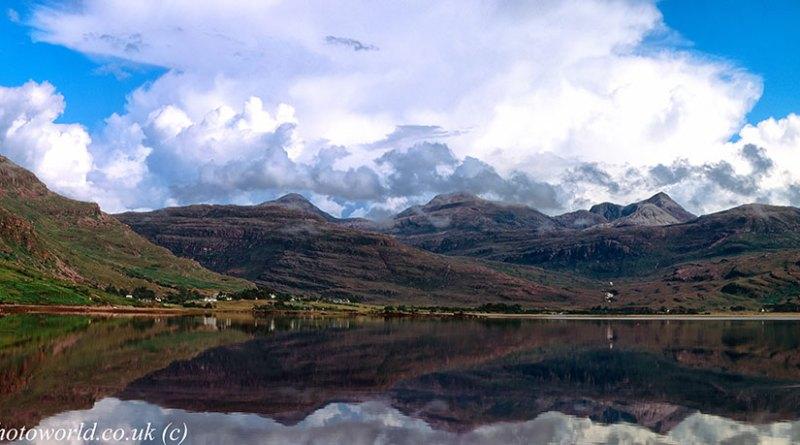 Loch Torridon panorama