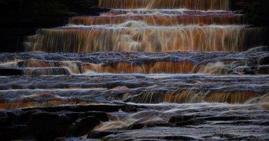 Aysgarth Lower Falls Brilliant Fibres