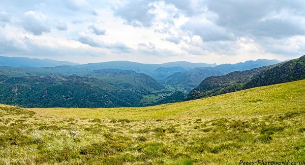 View of Rosthwaite from Maiden Moor