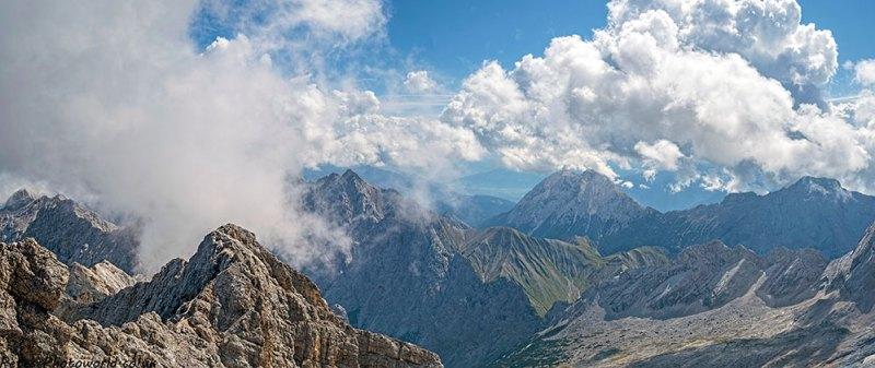 Zugspitze panorama 6