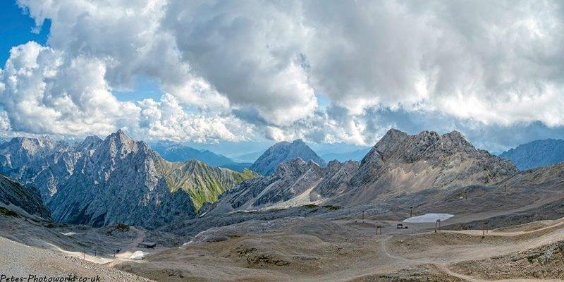 Zugspitzplatt panorama