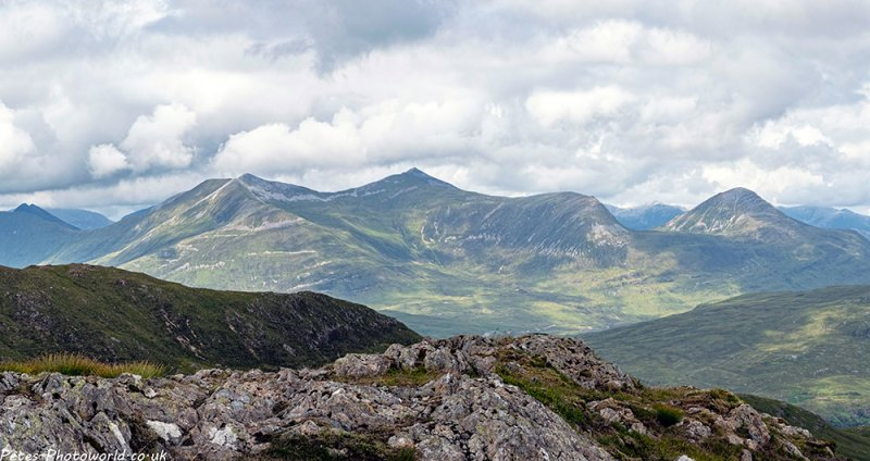 View from Stob Mhic Mhartuin