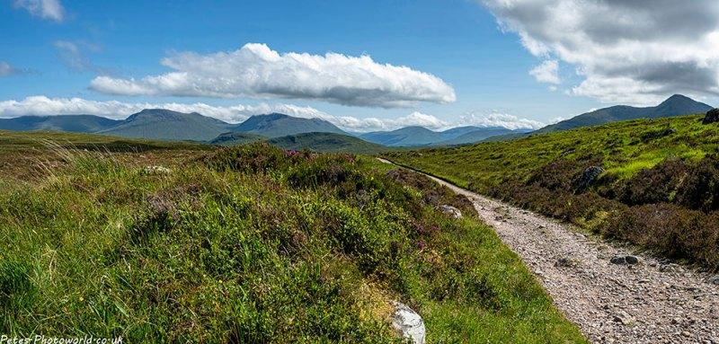 Looking towards Beinn Achaladair & Meall Buidhe II