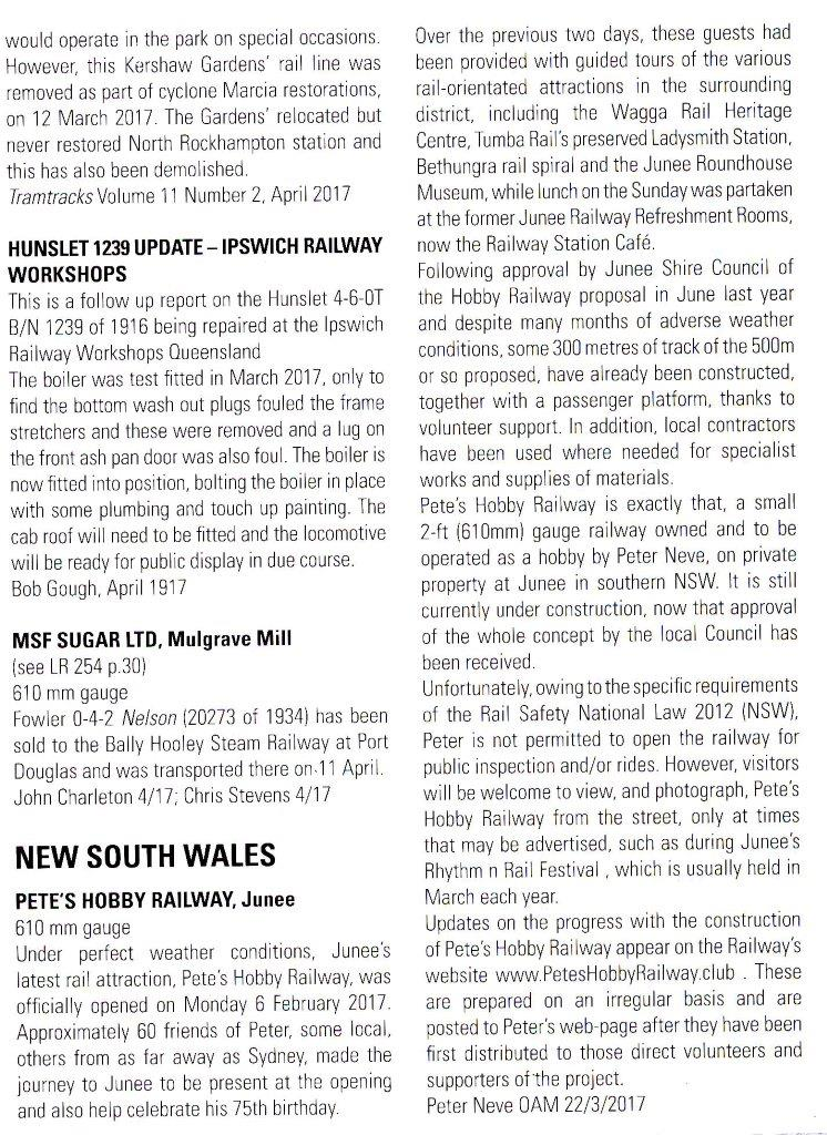 Light Railway Issue 255 Page 36