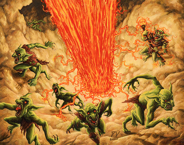 Image result for burning goblins