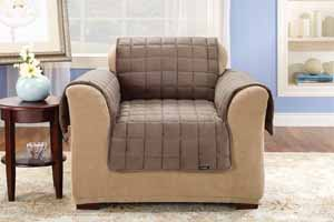 Sure Fit Deluxe Pet Couch Cover