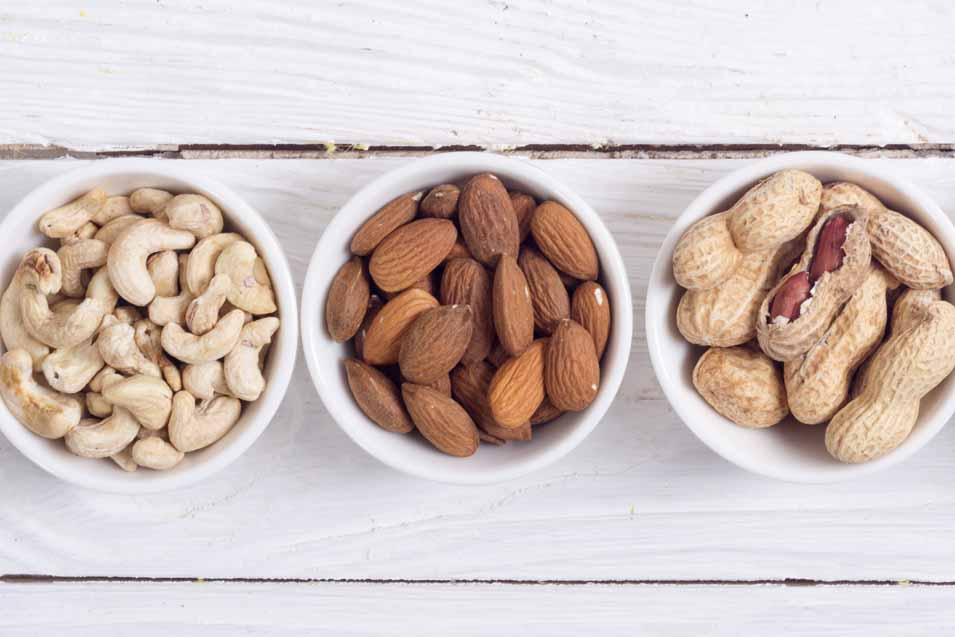 Picture of Peanuts, Almonds and Cashews