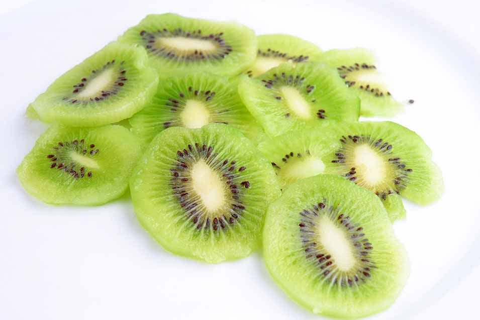 Picture of cut up kiwis