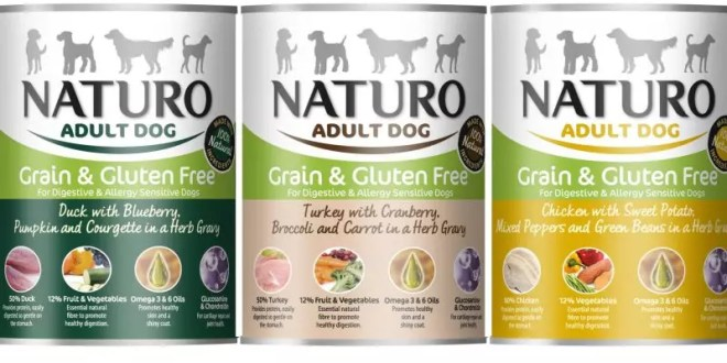 Naturo, dog food