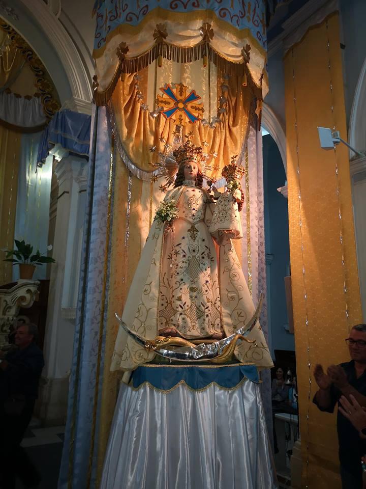 Festa della Madonna del Rosario, domani inizia la novena