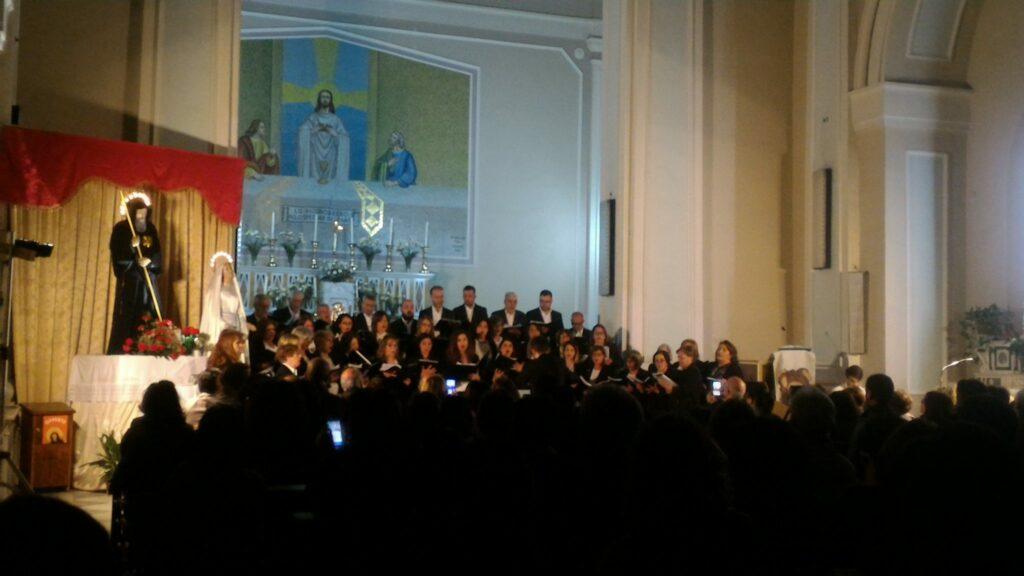Il coro polifonico Gaudemus a Crotone per i festeggiamenti di San Dionigi