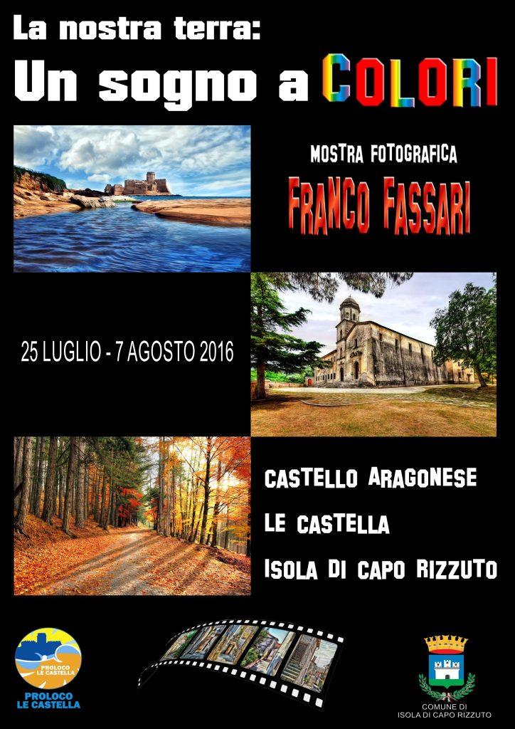 Franco Fassari a Le Castella con la sua mostra fotografica