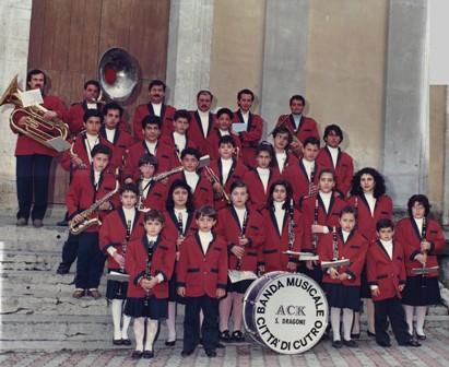 I 30 anni della banda musicale di Cutro