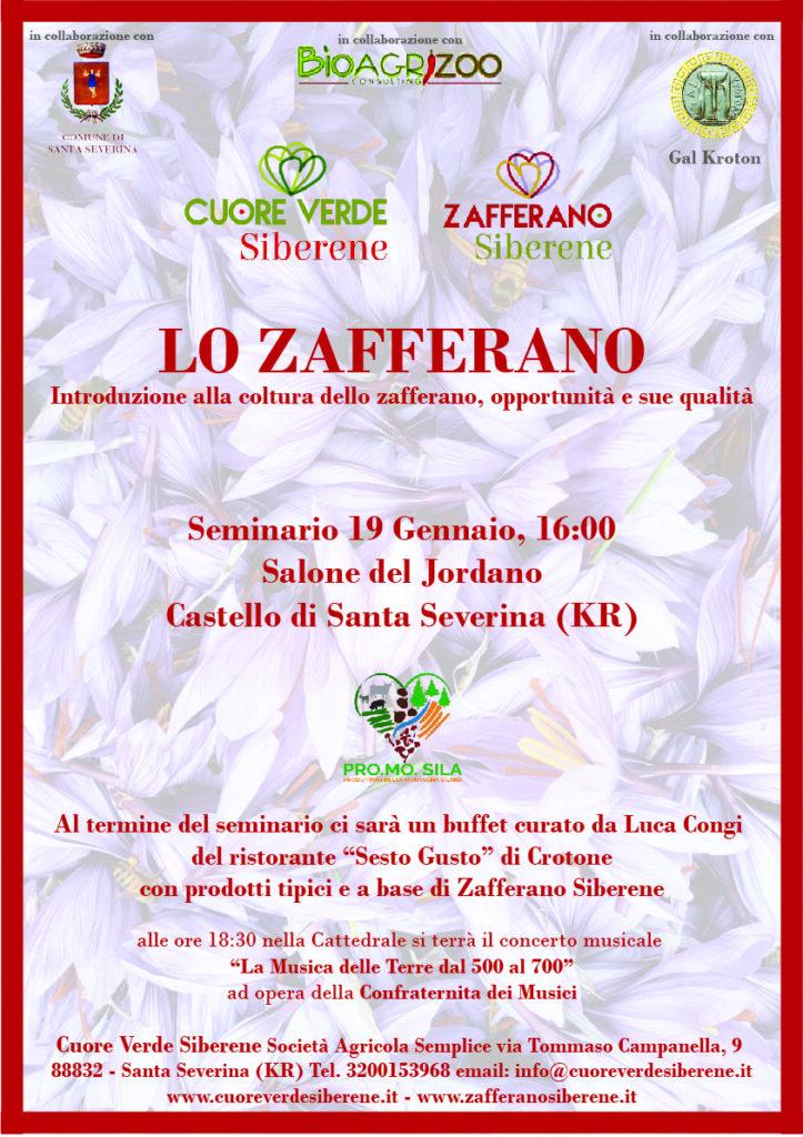 Coltivazione dello Zafferano: seminario a Santa Severina