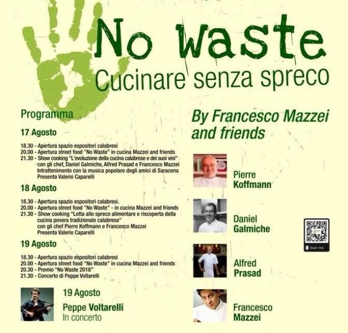 """Ritorna il """"No Waste Festival"""" a Cerchiara di Calabria"""