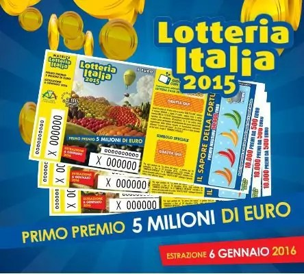 Lotteria Italia, a Crotone biglietto vincente di 25.000 euro