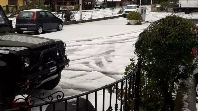 Neve in Sila, altro che primavera