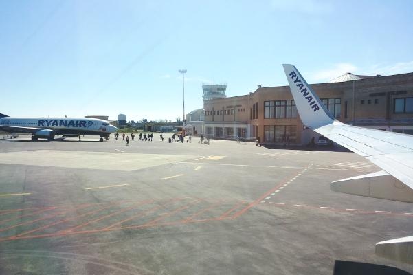 Record di passeggeri Ryanair all'aeroporto di Sant'Anna