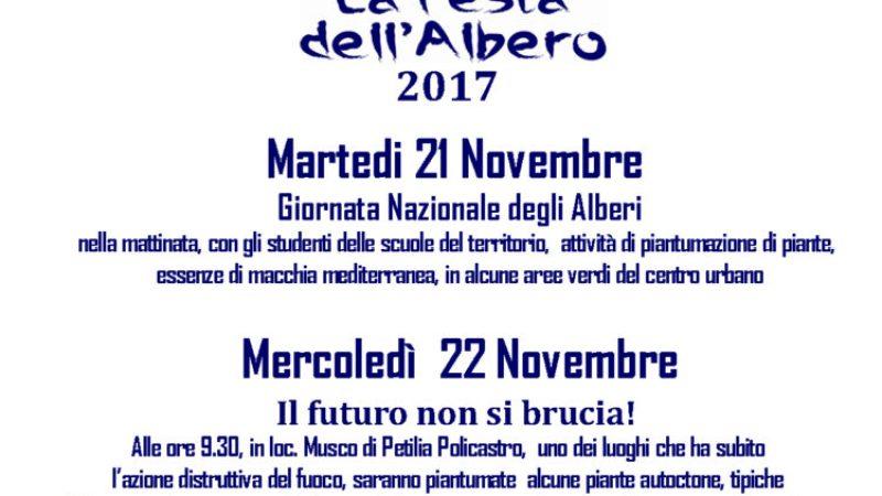 Il futuro non si brucia: Legambiente Petilia celebra la Giornata dell'Albero parlando di incendi