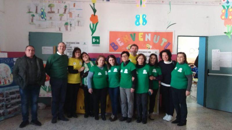 Operazione Mamme green alla scuola di Cariati con Legambiente Nicà