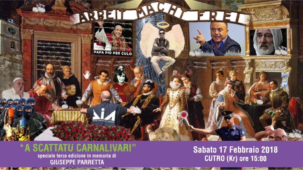 A scattatu Carnalivari – in memoria di Giuseppe Parretta: Domani a Cutro
