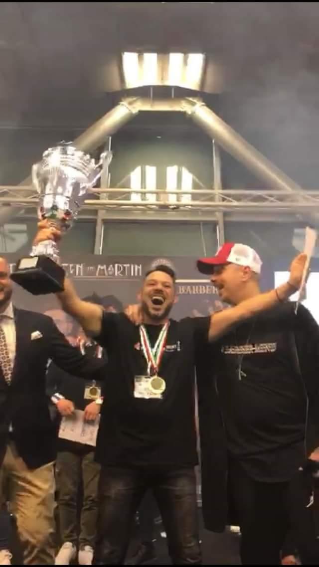 Il parrucchiere Mario Scalise si classifica primo in un concorso mondiale