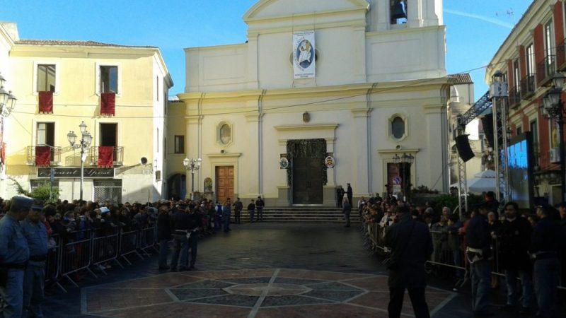 Anche Petilia presente all'apertura della Porta Santa della Cattedrale di Crotone