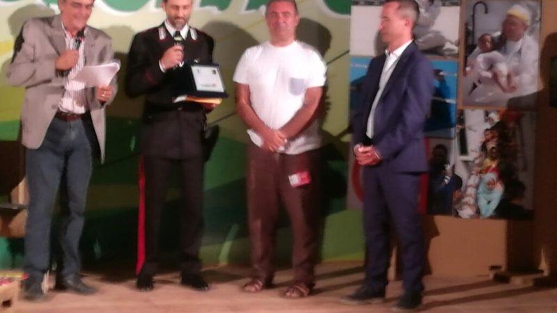 Al brigadiere Salerno va il premio Ambiente e Legalità