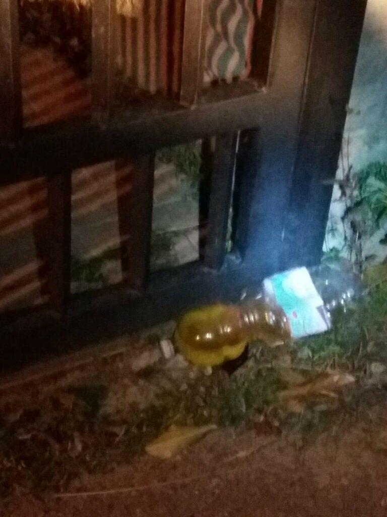 Atto intimidatorio per il sindaco Bilotta: davanti casa trova liquido infiammabile