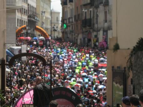 Il Giro d' Italia parte da Catanzaro
