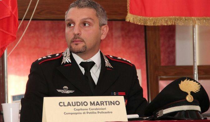 Cambio di guardia al Comando della Compagnia dei Carabinieri di Petilia Policastro