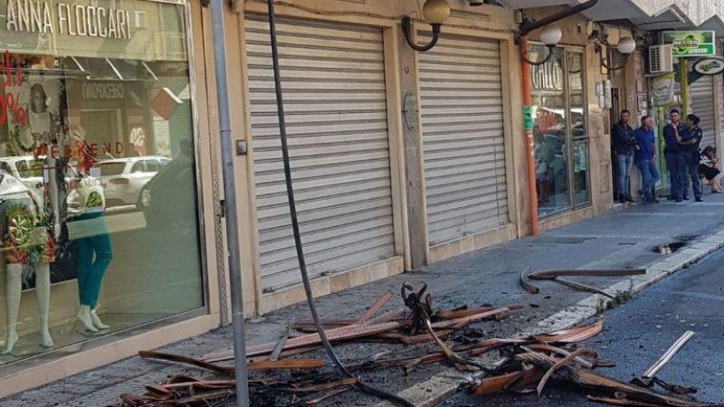 Giornata di fuoco per i Vigili di Crotone, tanti gli interventi