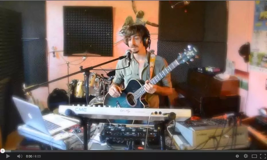 Gianluca Benvenuti, musicista per passione