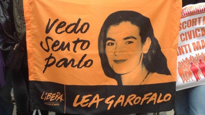Commemorazione per Lea Garofalo all'anniversario della sua scomparsa