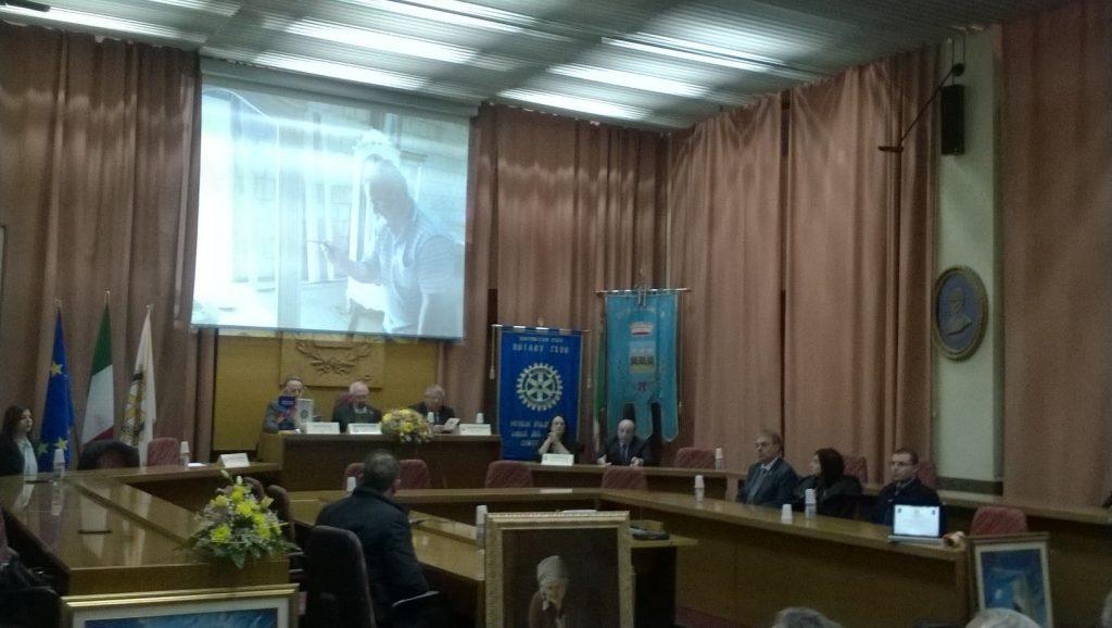 Rotary Club di Petilia premia Armando Cistaro e presenta Francesco Giordano