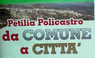 Una data storica: Petilia diventa città!