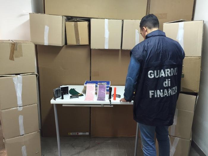 Sequestrati 500 mila prodotti pericolosi dalla GdF
