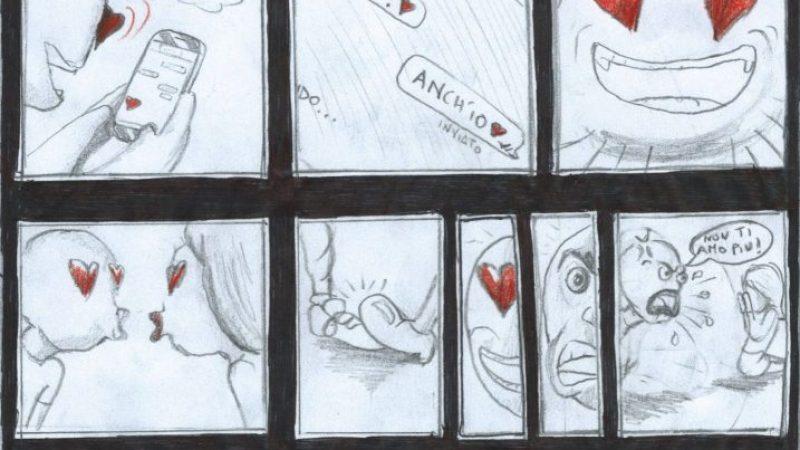 Buon San Valentino con la vignetta di Simone Bianco
