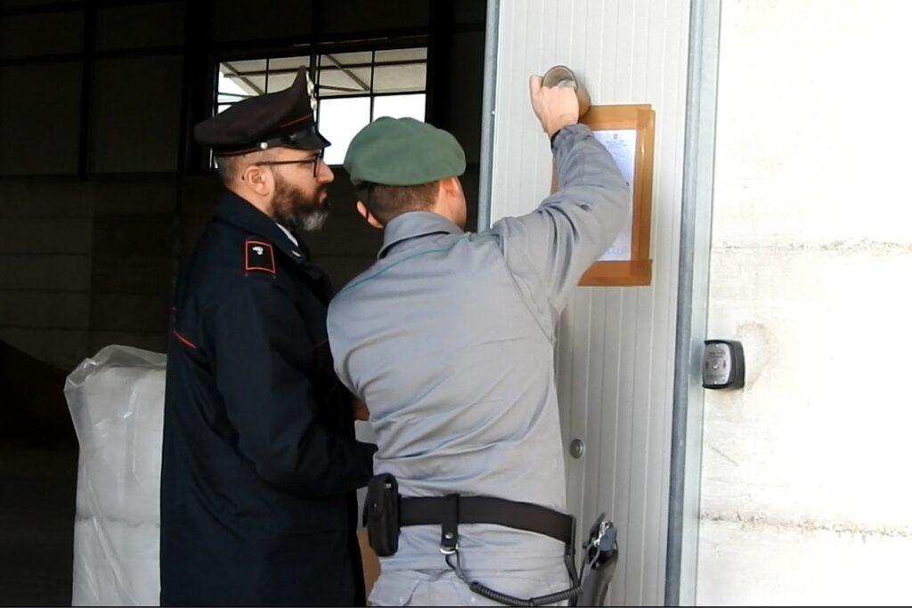 Altro capannone abusivo sequestrato dai Carabinieri forestali