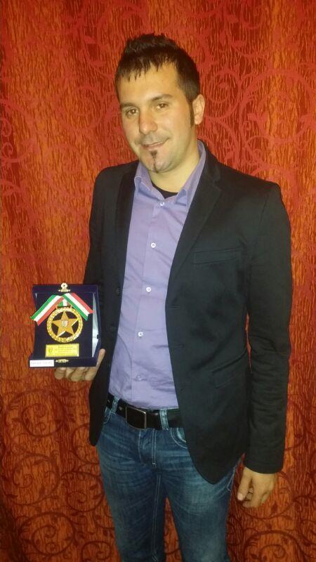 Dopo il salvataggio arriva anche un premio per Salvatore Cavallo