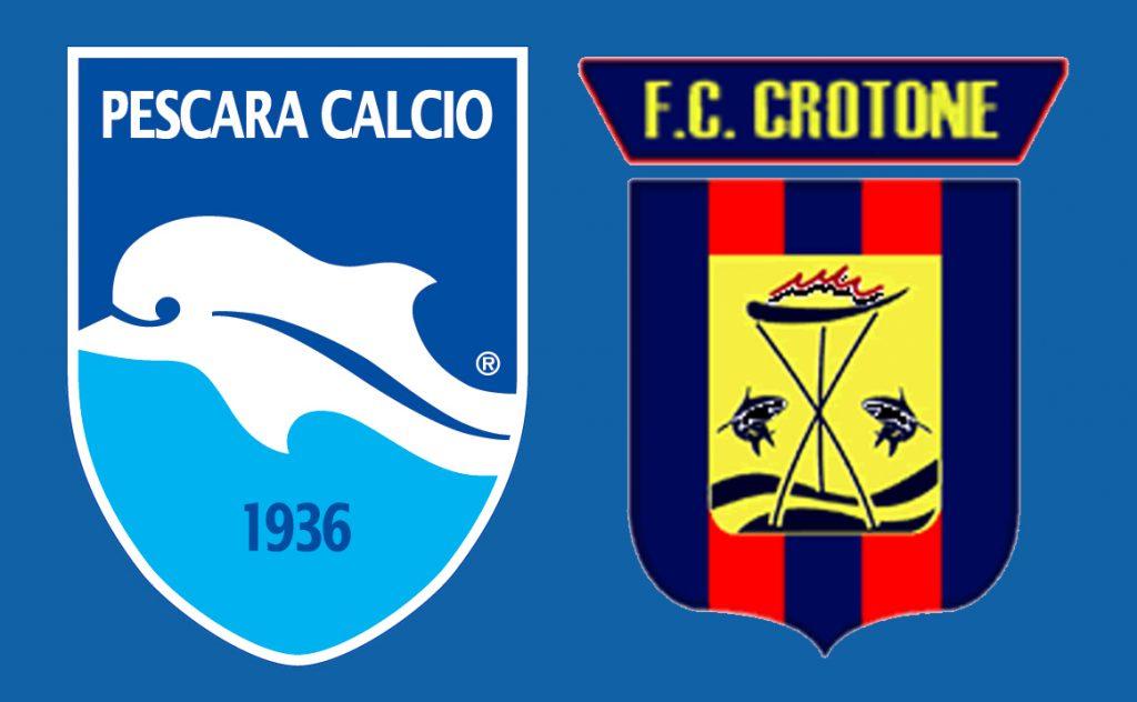 Serie B: crollo del Crotone a Pescara