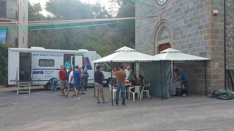 Nuovi donatori di sangue a Foresta di Petilia